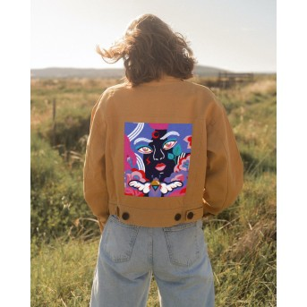 BEETLE WOMAN - HONEY - WOMEN'S JACKET **SOLD OUT**